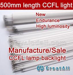Wholesale Ccfl Tube Lights - Wholesale-Free shipping 20pcs 500MM length LCD CCFL lamp backlight tube,500MM 2.4mm, 50CM length CCFL light