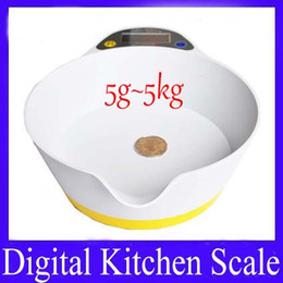 Wholesale Digital Postal Shipping Scales - Food Diet Postal Kitchen Digital Scale CH-320 5g~5kg 4pcs lot free shipping
