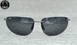 Wholesale Green Float Glass - Brand MJ Soprt Maui Jim Eyewear Brand New riding Sunglasses Floating Men Polarized Women Float Water Sun Glasses male Oculos