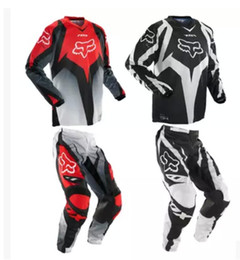 Wholesale Motocross Motorcycle Pants - Free Shipping Pants T-shirt Race Motocross Suit motorcycle jersey moto clothing T-Shirts suits (Pants + T-Shirts),suits