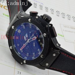 Wholesale F1 Quality - Free Shipping 2017 new F1 luxury black classic men's watches, automatic calendar mechanical sports style luxury high quality watches