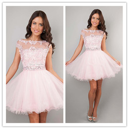 Cute Party Dresses With Sleeves - Missy Dress