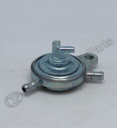 Wholesale Scooter Bike Gas - Wholesale- GY6 Motorcycle Fuel Pump Petcock Valve Gas Tank Fuel Switch 3-way for 50cc~150cc Moped Scooter Go-Kart ATV Quad Pit bike