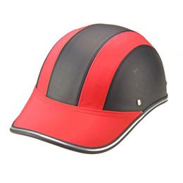Argentina Al por mayor-Color Golpear Casco caliente de verano Tipo de gorra Diseño de béisbol Casco de motocicleta Diseño colorido Suministro