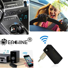 Wholesale Bluetooth Receiver Laptop - B3503 Car-In Auto Home Bluetooth V3.0 Music RCA 3.5mm Stereo Audio HiFi AMP Receiver Adapter Dongle A2DP For Speaker Universal