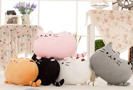 Wholesale Doll Toys For Girls - Hot Sale New 40*30cm plush toy stuffed animal doll,talking anime toy pusheen cat for girl kid kawaii,cute cushion brinquedos