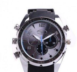 Wholesale Dv Waterproof Watch Spy - Full HD 1080p watch camera 16GB 16G IR night vision Waterproof Spy hidden Watch Camera DV W1000 night vision Spy Hidden camera Watch