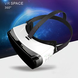 Wholesale Headset Video Games - 3D VR-YY01 Game Video Bluetooth Remote Virtual Reality Glasses 3 D Vrbox Video Game For Smartphone Helmet Headset