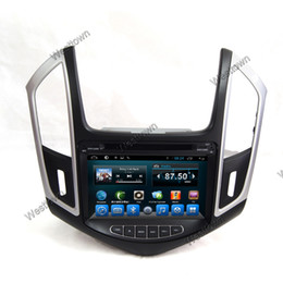 Wholesale Cruze Dash - Android 4.4 car dvd gps navigation entertainment system built in wifi 3g radio audio fit for Chevrolet Cruze 2014