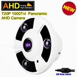 Vista de 360 grados CCTV de interior Seguridad para el hogar Cámara de vigilancia analógica HD 1.0MP 720P Cámara de infrarrojos con cámara domo de infrarrojos AHD desde fabricantes