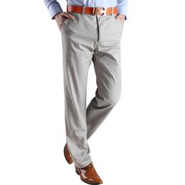 Wholesale Chino Trousers - Wholesale-chino mid rise business pants Men fit pants cotton jogger pants casual men's trousers comfortable high quality pants