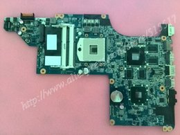 Wholesale Hp Pavilion Dv6 Mainboard - Wholesale-Working Perfectly For HP Pavilion DV6 Laptop motherboard 630279-001 DA0LX6MB6H1 REV :H mainboard, Free Shipping