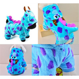 Wholesale Fall Cartoons - Cartoon Bobble Styling Dog Clothes Pet Jacket Coat Puppy Cat Costumes Apparel Winter