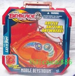 Wholesale Beyblade Metal Fusion Arena - 2015 NEW BEYBLADE METAL FUSION MOBILE BEYSTADIUM STADIUM ARENA BATTLE ANYWHERE