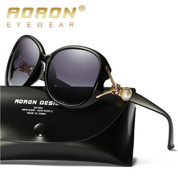 Wholesale cheap vintage eyewear - High Quality Polarized Lens Sunglasses for Women Designer Sun Glasses Aviator Sunglass Womens Luxury Brand Vintage Retro Eyewear Cheap