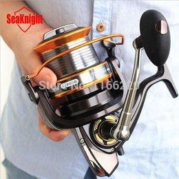 Wholesale Reel Fishing Big Game - SeaKnight Super 13BB LJ9000 Reel 4.1:1 Quality Big Game Sea Fishing Reel Metal Saltwater Fish Wheel