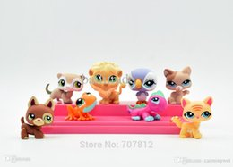 Wholesale Littlest Pet Shop Collection - Wholesale-Sales 8x Cute Littlest Pet Shop Action Figures PVC Lovely Cartoon Collections Toys High Quality Best Gift