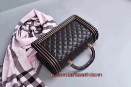 Wholesale Ve Day Cover - 2017 winter new hot fashion women bag genuine leather with handle have chain long strap hand shoulder cross-body women bag free shipping
