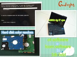Wholesale Cpu Used - 2017 newest mb star c4 software and for bmw icom software 2 IN1 with 1tb hdd laptop x201t i7 cpu ready to use