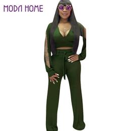 145e1e6f5551 sexy cut out bodycon jumpsuit Promo Codes - Wholesale- Sexy Women Bodycon  Jumpsuit Long Flare