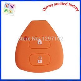 Wholesale Car Remotes For Sale - Wholesale-Embossed logo silicone key case for Toyota car key cheap hot sale for Toyota remote key case