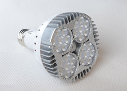 Wholesale Fans Ac - CE UL CSA + Ultra Bright 35W 24LEDs 3600 Lumens E27 Led par30 Spot Bulb Lights With Cooling Fan 38 Degree CRI>85 AC 110-240V Led Spotlight
