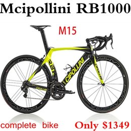 Wholesale Complete Road - Top Sale!2015 full carbon road bike Mcipollini RB1000 complete bike cipollini carbon bike Ultera 6800,handlebar,saddle,wheels