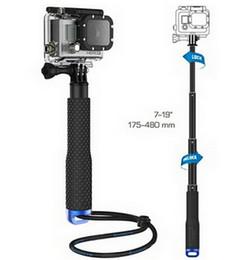 Wholesale Gopro Pole Mount - Gopro Aluminum selfie Extendable Pole Telescoping Handheld Monopod with Mount Adapter for GoPro Hero 1 2 3 3+ 4 SJ4000 Hero4
