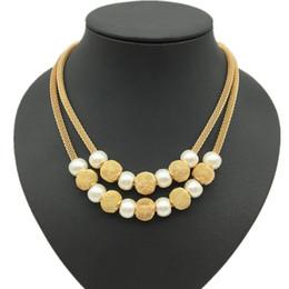 Aragoste online-collana di perline con perline catena maglia catena perline e perline in filigrana catena multistrato aragosta artiglio regalo di natale