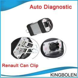 Wholesale Clip Diagnostic - 2017 Super V151 Multi-language Raenault CAN Clip professional Renault Diagnostic tool DHL Free SHipping