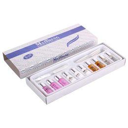 Wholesale Eyelashes Perm Set - Wholesale-New Eyelash Curling Perming Curler PERM Kit Eyelash Wave Lotion Eye Rod Glue Set cilios posticos natural #82642
