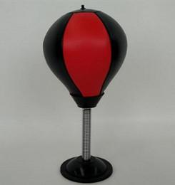 Bola de boxeo Mesa de alivio de tensión Bola de pugilismo Saco de arena de escritorio Vertical Fidget Toy Vent Descompresión Oficina Juguetes Herramientas de entrenamiento desde fabricantes