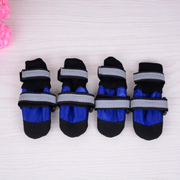 Wholesale Paws Boots - 2015 JML Weather Neoprene Paw Protector Dog Boots with Reflective Velcro Straps