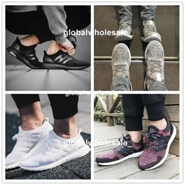 Wholesale Red Snowflakes - Ultra Boost 2.0 3.0 4.0 UltraBoost mens running shoes sneakers women Sport Tri-Color NMD R2 CNY Snowflake Core Triple Black White