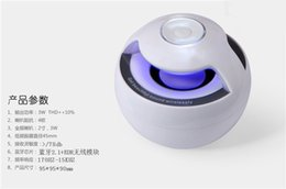 Wholesale Active Loudspeakers - AJ-69 Mini Active Bluetooth Stereo Speakers mini speaker bluetooth speaker With Micphone LED Light loudspeaker surround sound With retail