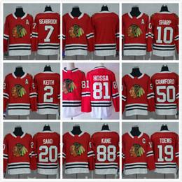 Chicago Blackhawks  88 Patrick Kane  81 Marian Hossa  50 Corey Crawford  65   29  7 Black Ice And Skull Stitched NHL Hockey Jerseys Cheap 516f1cec5