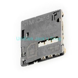 Wholesale Slot Module - Wholesale-original New for Samsung Galaxy Note 2 GT-N7100 SIM Card Reader Connector Holder, SIM Card Slot Module Holder for Galaxy Note 2