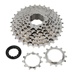 Wholesale Bicycle Bike Freewheel - MTB Mountain Bike Bicycle 8S Cassette Flywheel 8 Speeds Flywheel 11-32T Teeth Crankset Cycling Part Y0963
