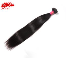 "Wholesale ali queen - Ali Queen brazilian straight hair extensions,Length 10""-30"",No Shedding No Tangle 1 pcs lot"