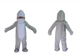 Disfraz de mascota de tiburón adulto online-Disfraces de cosplay de los hombres de moda traje cómodo y transpirable Traje de mascota de tiburón tamaño traje de tiburón