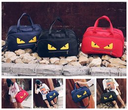 Wholesale Wholesale Wen - women wen fashion Monster travel totes bags oxford handbags Sports bag shoulder Yoga bags Women Tote Travel Bags KKA3377