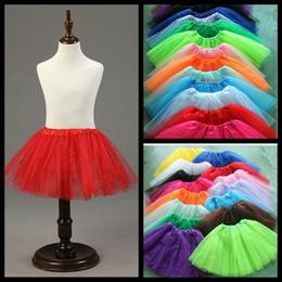 Wholesale Promotion Wedding Dresses - Petticoats For Wedding Dress Promotion Yarn Dyed Polyester Jupon Enaguas Novia 2016 New 3 Color Children Petticoat Free Shipping