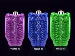 Wholesale Vagina Youcups - 1 pcs lot Youcups Butterfly 10 Modes Male Masturbator Granul Stimulating penis Massager Male Sex Toys Sex Products For Men A1