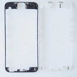 "Wholesale Iphone 3m New - New LCD Frame Holder Middle Bezel Digitizer Frame With 3m Adhesive & hot glue For iPhone 4 4S 5G 5S 5C 6 4.7"" 6 Plus Bracket Replacements"