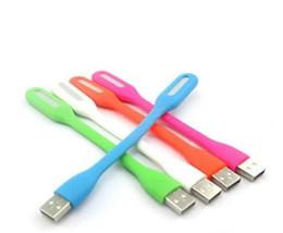 Wholesale Lead Lights For Sale China - 600pcs hot sale Xiaomi Flexible USB LED Lamp light portable USB LED light For Power bank Computer Led Lamp for retail box D594