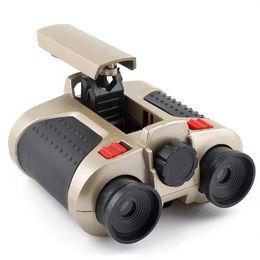 atrações combo Desconto 4x30 green LED night vision telescope child telescope children gifts factory direct outdoor safe toys