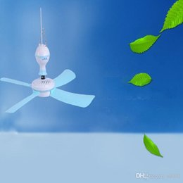 Wholesale Mosquito Ceiling Fan - Safe Electric Fan Mute Energy Saving Pastic Ceiling Fans For Student Dormitory Mosquito Net Mini Fanner 12 5hy B R