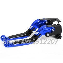 Wholesale Yamaha Motorcycle Brake Parts - For YAMAHA YZF-R25 2014-2015 Foldable Extendable Brake Clutch Levers Aluminum Alloy CNC Folding&Extending Hot Sale Levers Motorcycle Parts