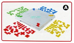 Wholesale Tetris Puzzle - Wholesale-Puzzle Blokus Tetris Game Sssorted Cold Dishes Desktop Children's Educational Toys