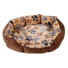 Wholesale Iron Fleece - ASLT 2015 New Pet Dog Puppy Cat Gray Bed House Nest Mat Pad Cozy Soft Warm Fleece